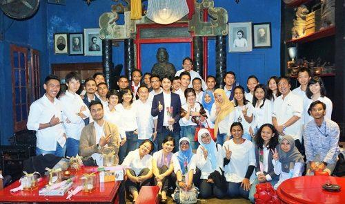 インドネシア法人での送別会