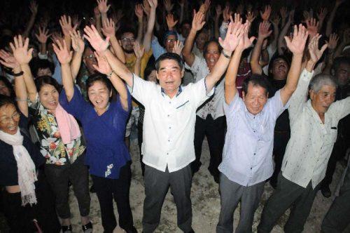 多良間村長に現職の伊良皆氏再選 投票率97.80%