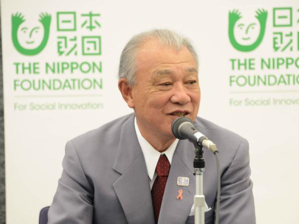 笹川陽平・日本財団会長