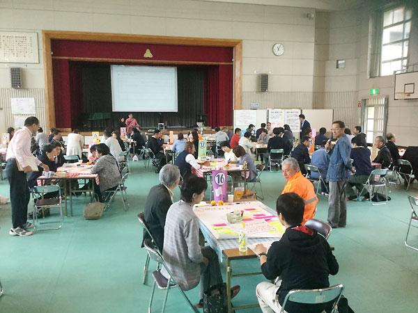 牧之原市:廃校になる小学校の活用を考える「サロン」