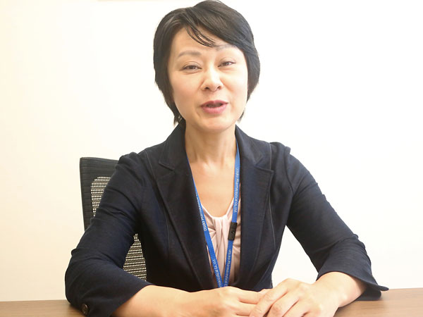 女性の健康推進担当で神奈川県未病サポーターの釣本敦子氏