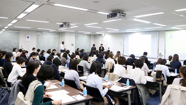 4月14日に東京都港区の大塚製薬東京本部で開催されたオーザスセミナー会場の様子