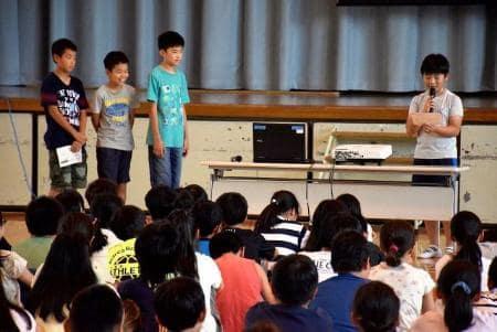 校名選びで模擬投票 川崎の小学校