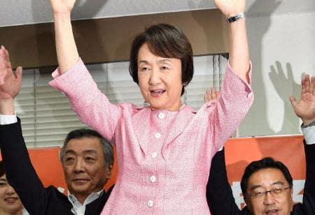 横浜市長に林氏3選 新人2氏を大差で破る