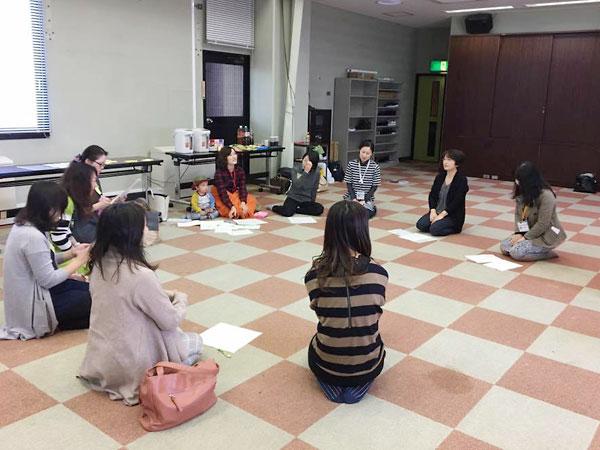 熊本地震を契機に「ママカフェ」を開催