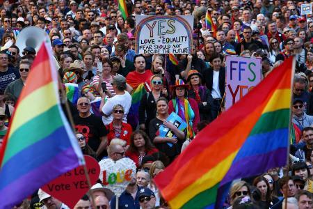豪で同性婚問う郵便投票始まる 賛成多数なら合法化へ