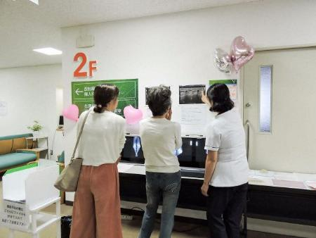 多忙な女性向けに「日曜日の乳がん検査」 厚木