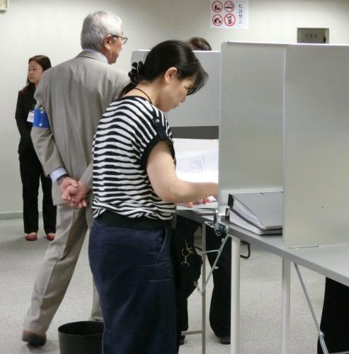 衆議院選挙=在外公館投票開始、14日まで=改憲含む安保政策に関心集まり