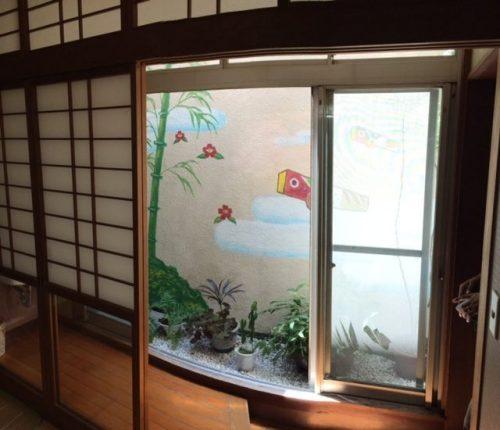 熊本県・人吉市の一富士旅館(撮影は田中さん)