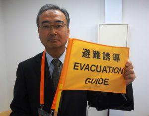 「防災ガール」らが普及・啓発―津波防災の新しい合図「オレンジフラッグ」