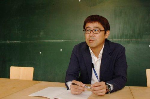 福井新聞「まちづくり企画班」の記者、高島健さん