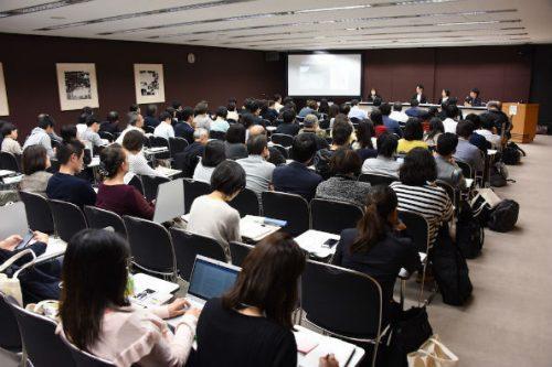 盛会の「日本の食の未来」会場