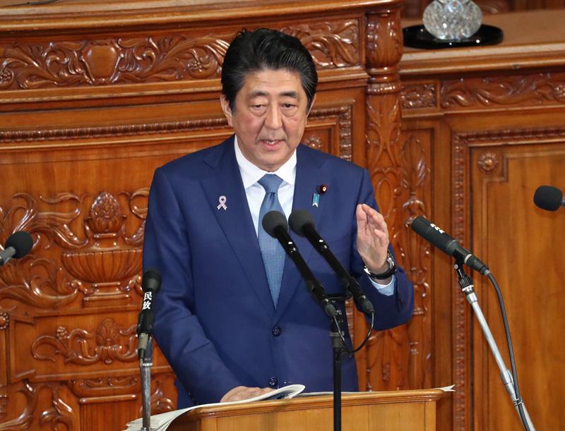 施政方針演説、最も関心あるのは北朝鮮対応