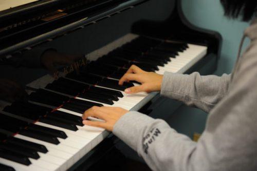 スタディクーポンはピアノ教室で利用されたことも (c)Natsuki Yasuda