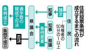 辺野古・県民投票で賛否 承認撤回に「有効」 知事選同日「遅い」