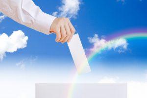 篠山市長選が告示 前市長と元市議が立候補、住民投票とともに18日投票