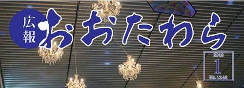 広報おおたわら 平成30年1月号(No.1246)