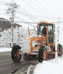 高齢者らに「思いやり除雪」スマホ活用し作業者に対応通知 寒河江、新庄で新システム