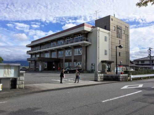 村の中心に位置する舟橋村役場までは駅から歩いて5分ほど