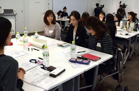 全国の女将、女子大生と議論 京都、魅力的な旅館業探る
