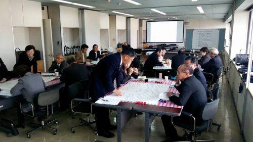 柴田町議会のワールドカフェによる議員間討議