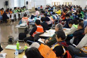 南海トラフに備え、救援活動のための図上訓練を静岡で実施