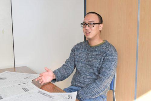 不登校新聞 編集長の石井志昂さん