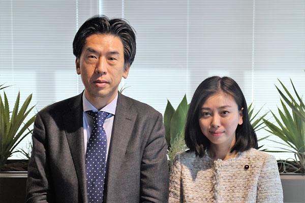 石井部長と斉藤区議