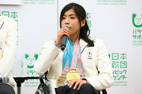 村岡桃佳選手