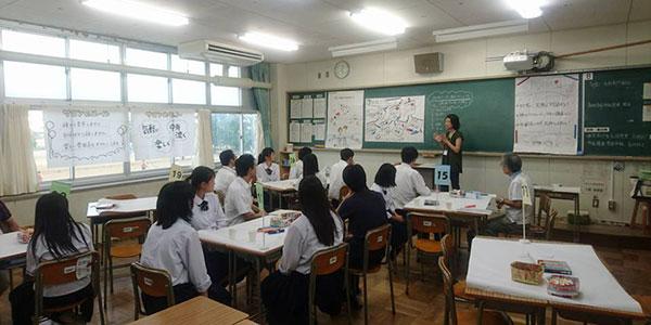榛原高校で行われた第3回「学び合いの場」