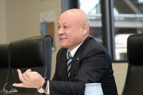 林伊佐雄 三芳町長