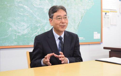 仙台市経済局長の遠藤和夫さん