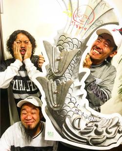 ロックバンド「WANIMA」が投稿した写真