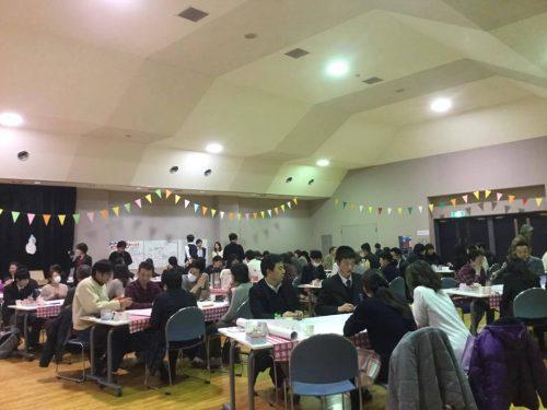 青森県三戸町の「まちづくり人財塾」でのワールドカフェ