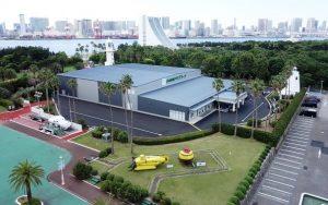2020年に向け、東京お台場に「日本財団パラアリーナ」が完成