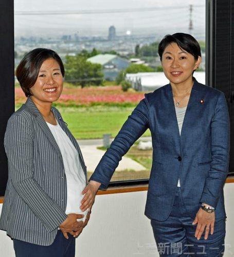 増えるか 女性議員 南千晴榛東村議長と小渕優子衆院議員に聞く