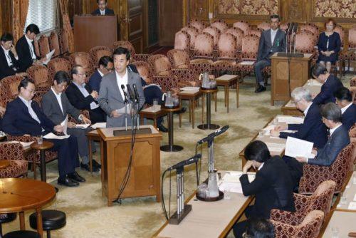 参院定数6増、特別委で審議 公選法改正案、自民修正せず