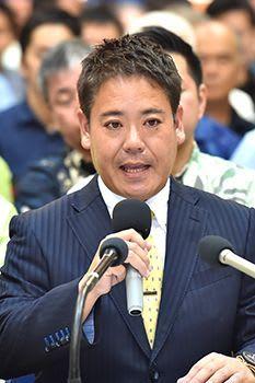 豊見城市長選 宜保安孝氏が出馬表明 「市民に寄り添う」