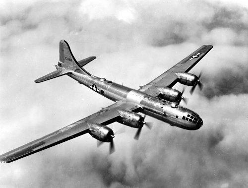 アメリカ空軍所属のB-29