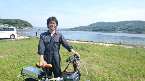 ISOLA株式会社代表の有安勝也さん