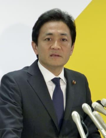 玉木氏が党代表選に立候補表明 国民民主