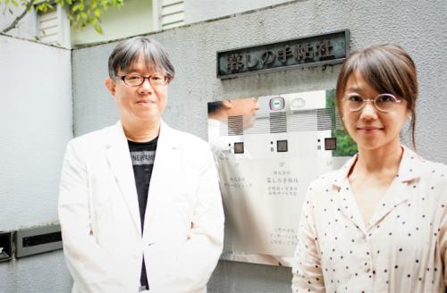 澤田康彦編集長と、編集部の村上薫さん