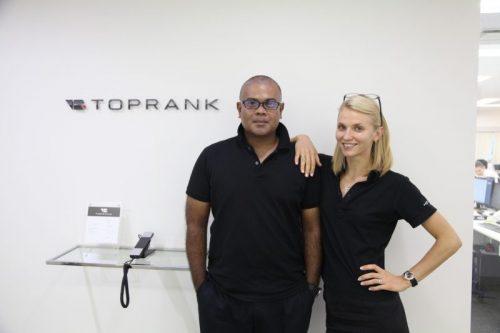 ビジネスライクに外国人材を採用するトップランク