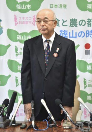 「丹波篠山」で市長辞職へ、兵庫 出直し選と住民投票実施