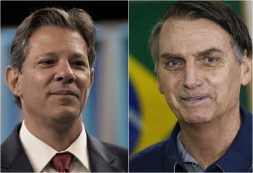 ブラジル大統領選、決選投票へ 右翼と左派で