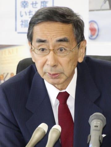 西川福井知事が5選出馬表明 「先頭に立つ覚悟」