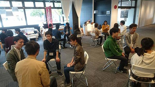 学生と自治体職員の「対話の学び場」の様子3