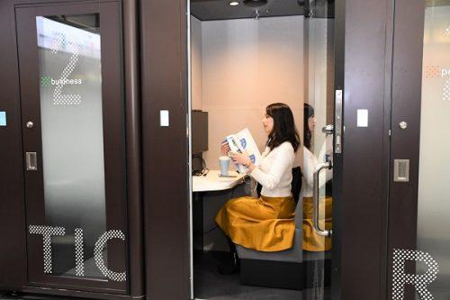 駅ナカ等におけるシェアオフィス「STATION WORK」3