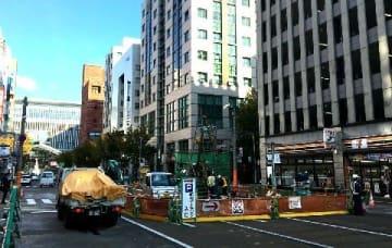 博多陥没2年、トンネル掘削へ準備進む 福岡市長選、当時の対応も争点 [福岡県]