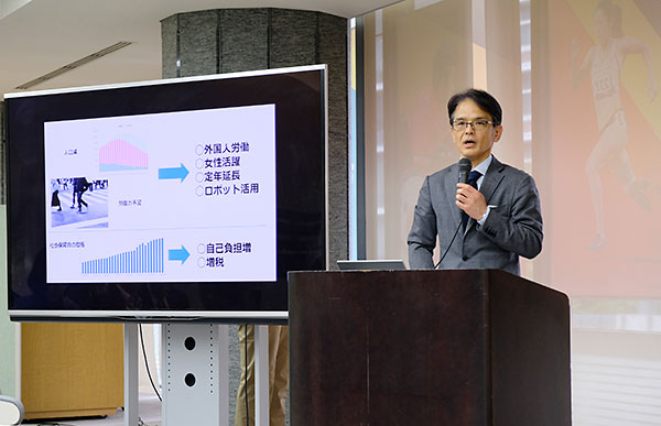 竹村利道日本財団公益事業部シニアオフィサー